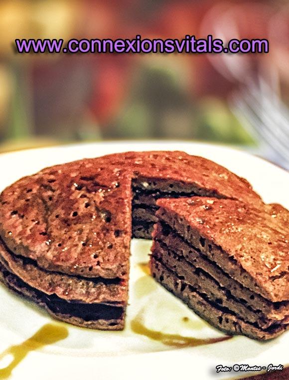 Pancakes de Trigo Sarraceno y Calabaza