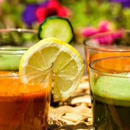 Zumos antioxidantes para el verano