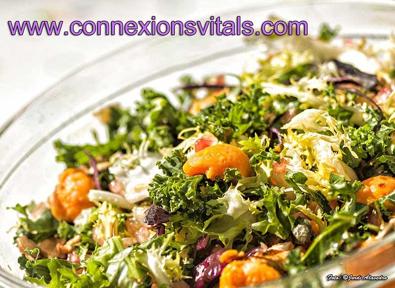 Ensalada de Boniato y Kale