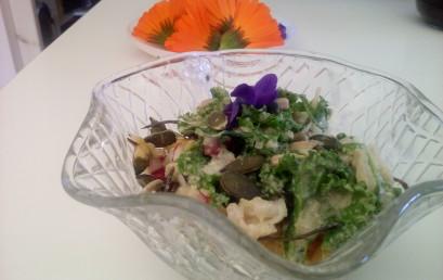 Kaleslaw (Ensalada de col Kale)